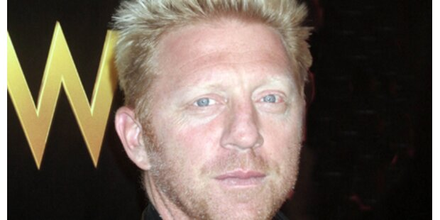 Boris Becker blufft im Casino Baden
