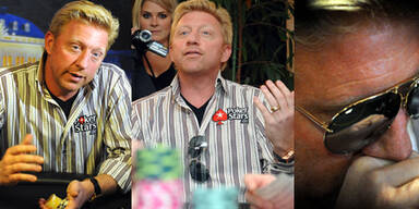 Boris Becker bei Poker-EM in Baden