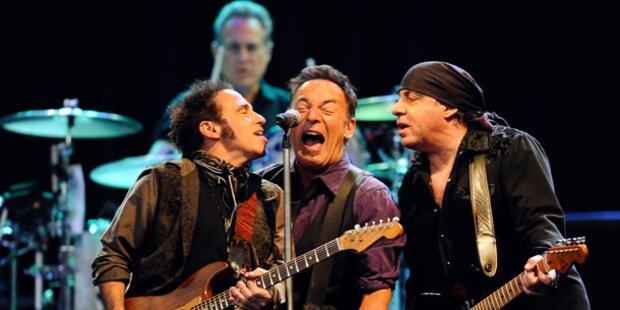 Bei Gig: Springsteen wurde Strom abgestellt