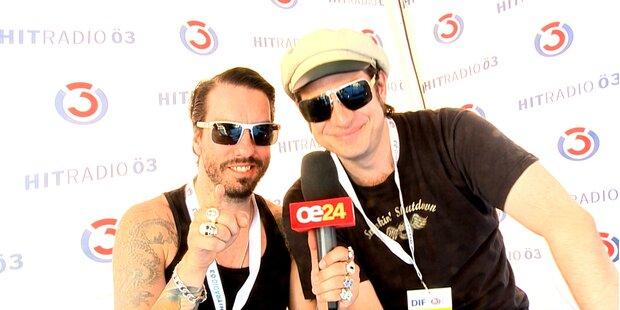 BossHoss im oe24 Interview am DIF 2012