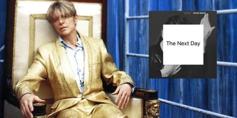 """Die Rückkehr von David Bowie nach einer zehnjährigen Auszeit ist """"das größte Comeback der Rock-'n'-Roll-Geschichte"""". So urteilte zumindest laut Nachrichtenagentur Reuters der englische Journalist Andy Gill von der Tageszeitung """"The Independent"""". Aber auch seine Kollegen, die das am 8. März in Österreich erscheinende Album """"The Next Day"""" des Pop-Chamäleons bereits gehört haben, überschlagen sich mit Lob. Die beiden im Voraus ausgekoppelten Singles rechtfertigen die Aufregung."""