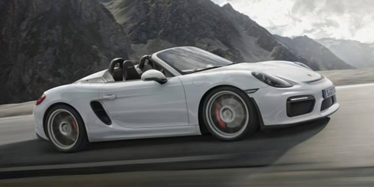 Neuer Porsche Boxster Spyder startet