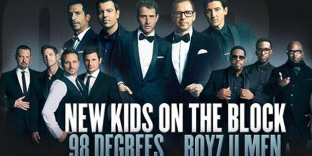 Kult-Ex-Boybands gehen wieder auf Tour