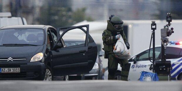 Bombenalarm in Brüssel: Autolenker festgenommen
