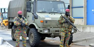 Brüssel Soldaten