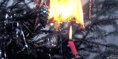 Brände mit sicheren Kerzen verhindern