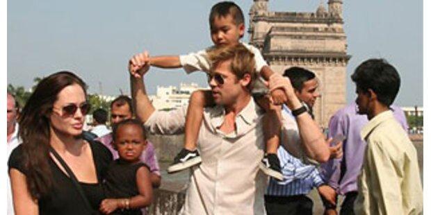 Brad Pitt über das Familienleben mit Angelina