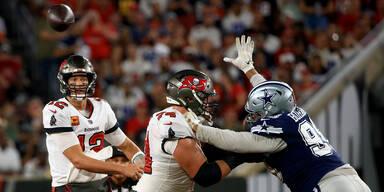 Brady gewinnt Thriller bei NFL-Auftakt