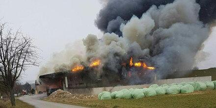 Familiendrama: Drei Tote bei Brand in NÖ