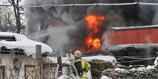 Brand in Heurigenlokal durch Herdplatte ausgelöst