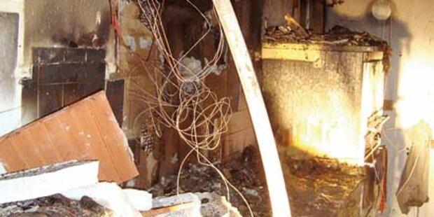 Ein spätes Essen löste Wohnungsbrand aus