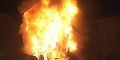 Ein Todesopfer bei Wohnhausbrand