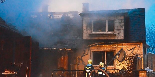 Ehepaar stirbt bei Brand-Inferno
