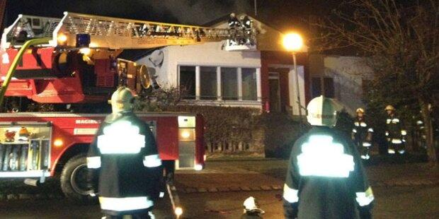 Feuerwehr-Großeinsatz im Burgenland