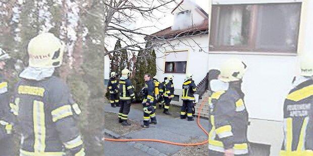 Zweijährige setzte Haus von Großmutter in Brand