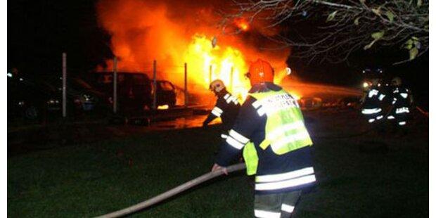 Nachbarn retteten Steirer aus brennender Wohnung