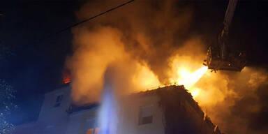 Brandstiftung St Pölten