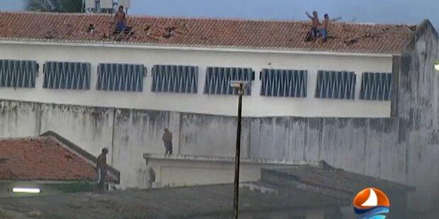 Über 30 Tote in brasilianischem Gefängnis