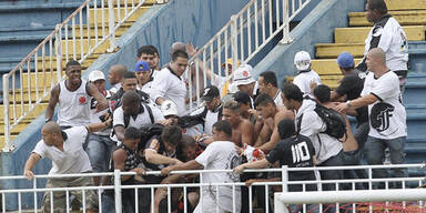 Fan-Krawalle erschüttern Brasilien