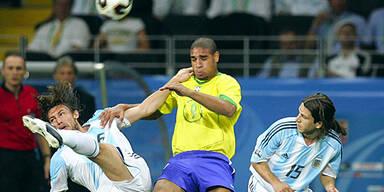 Brasilanische Samba gegen argentinischen Tango