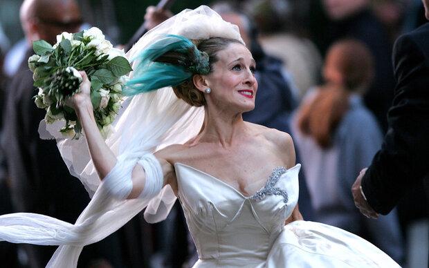 Dieses Brautkleid würde Carrie Bradshaw lieben