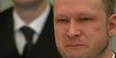 Breivik weint im Gericht bei Filmvorführung
