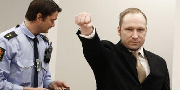 Oslo-Killer Anders Breivik jetzt vor Gericht