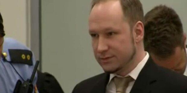 Breivik: 21 Jahre Haft für den Oslo-Killer