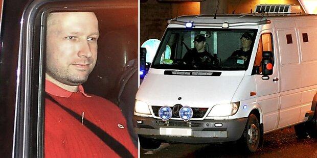 Breivik bleibt in Isolations-Haft