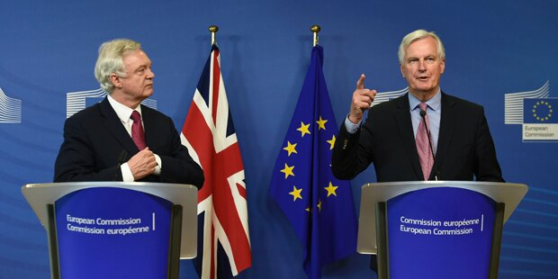Brexit-Verhandlungen haben offiziell begonnen