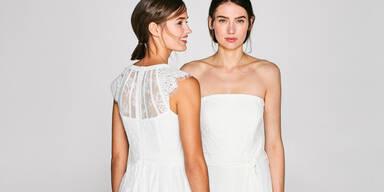 So sieht das Brautkleid von Esprit aus