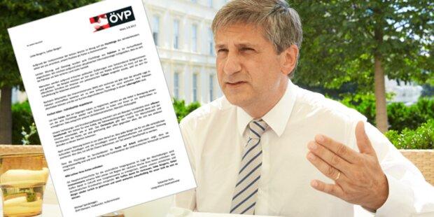 Wirbel um falschen ÖVP-Brief in Wien