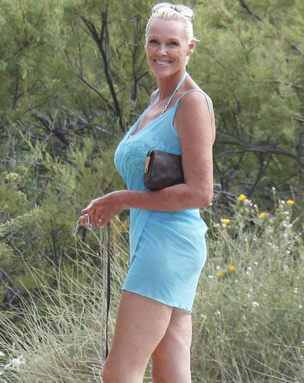 Brigitte Nielsen: Beine verraten ihr Alter