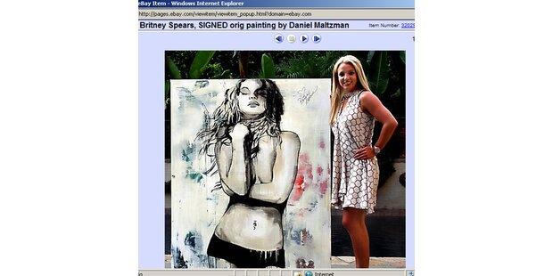 Britney Spears' Aktgemälde brachte 13.800 Dollar