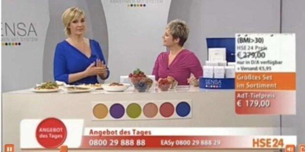 Britt verkauft jetzt Diät-Pulver im Werbe-TV