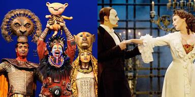 König der Löwen / Phantom der Oper