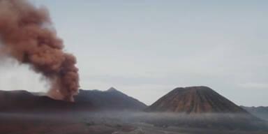 Naturschauspiel: Vulkan Bromo auf Java