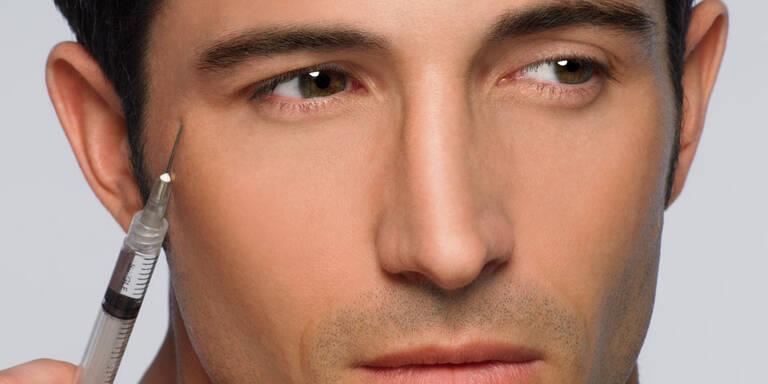 So viele Männer greifen zu Botox