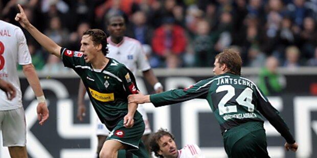 Gladbach verschärft HSV-Krise - 1:0