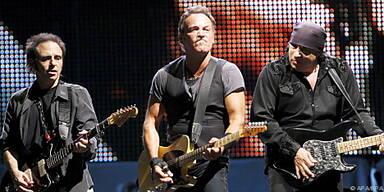 Bruce Springsteen derzeit auf Tour