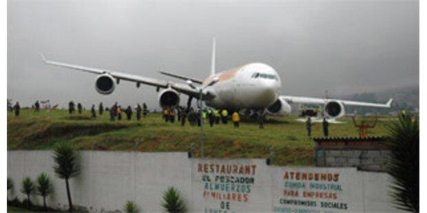 Bruchlandung von Airbus mit über 300 Passagieren