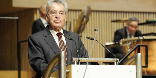 Bundespräsident Fischer eröffnete Brucknerfest