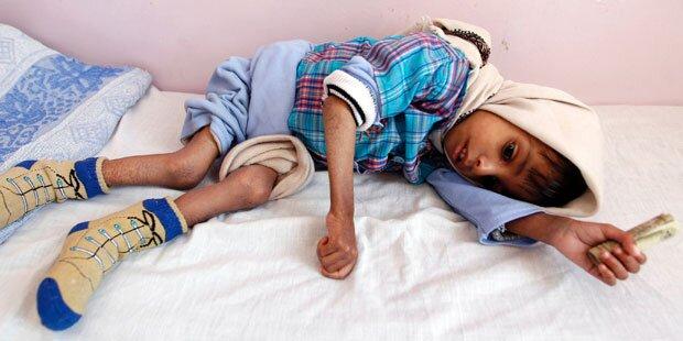 Hunderttausende Kinder in akuter Gefahr