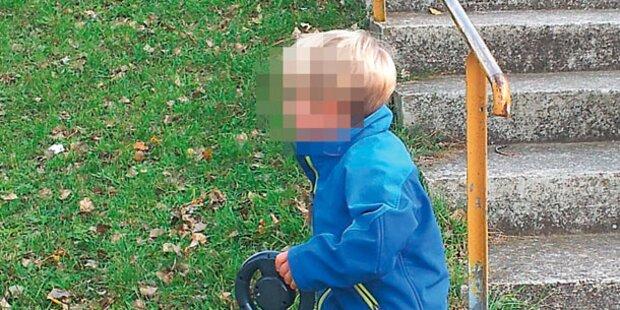 3-Jähriger flüchtet aus Kindergarten