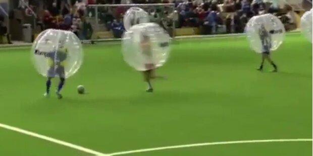Norweger entwerfen Fussball-Schutzanzug