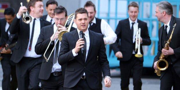 Michael Buble gibt Wien-Debüt