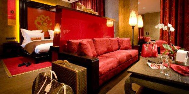 Romantische Hotels für Verliebte