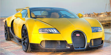 Sondermodell des Bugatti Veyron Grand Sport