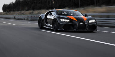Weltrekord-Bugatti geht in Serie