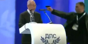 Gaspistolenanschlag auf Politiker vereitelt